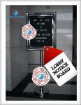 lobby notice board